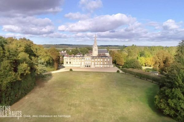 Le château de Versigny et son parc