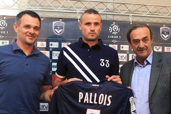 Nicolas Pallois, la nouvelle recrue des Girondins au poste de défenseur central