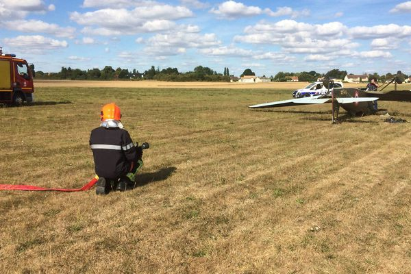Image illustration, accident d'avion à Alençon.
