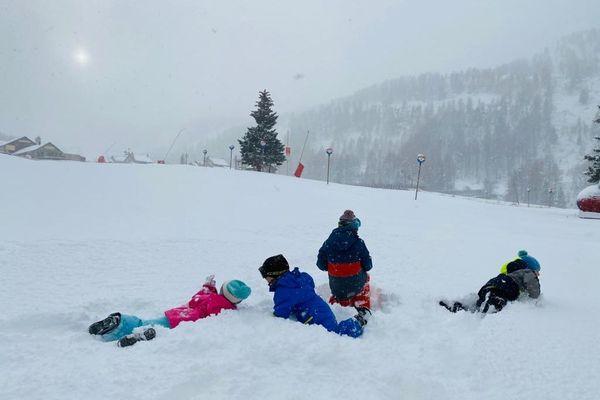 La saison ds bonhommes de neige est lancée !