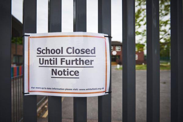 Une école fermée, en mai dernier, dans le quartier de Walthamstow à Londres.