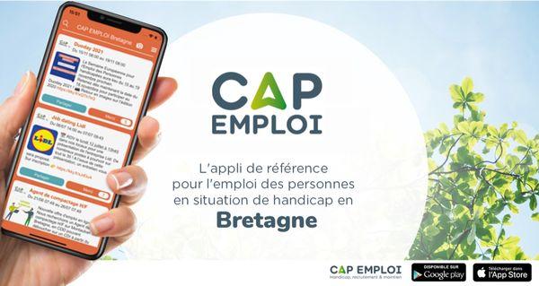 Cap Emploi Bretagne, une nouvelle application pour les travailleurs handicapés