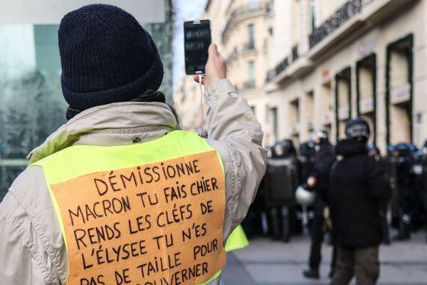 (Illustration - photo prise le 8 décembre 2018 à Paris)