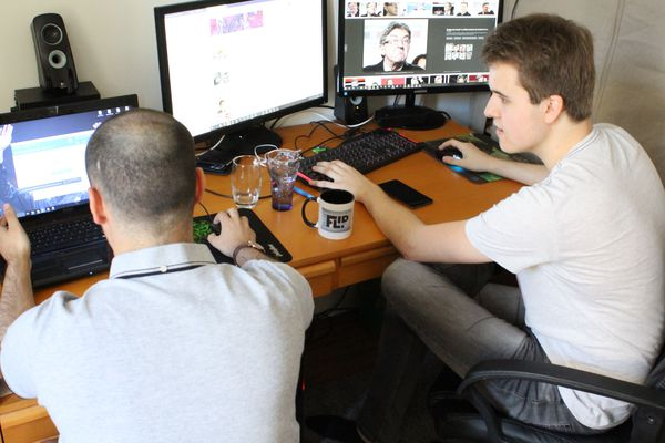 Quentin Mitard et Thomas Renaud, deux membres fondateurs de Breakflip.