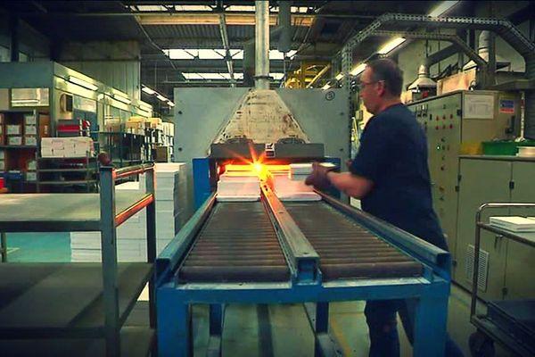 Le four de l'entreprise de céramiques techniques Solcera