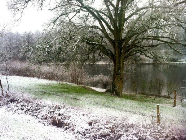 Horps sous la neige