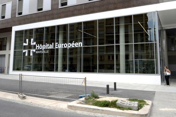 Illustration. Entrée de l'hôpital Européen, dans le 3e arrondissement de Marseille, a ouvert ses portes le 19 août 2013.