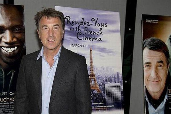 """François Cluzet lors d'une présentation du film """"Intouchables"""" en mars 2012 aux USA"""