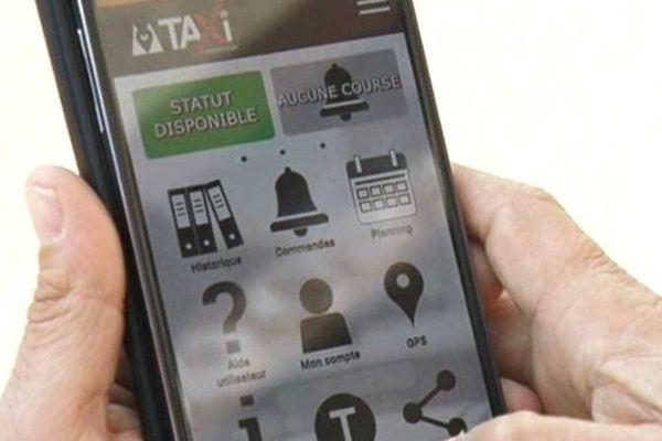 Une application pour localiser le taxi le plus proche.