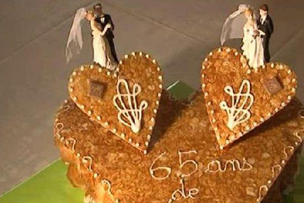 65 ans de mariage !