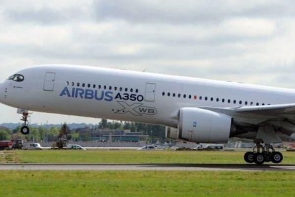 Le premier décollage de l'A350