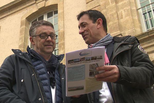 Philippe Bouty (PS) et Jean-Noël Dupré (UDI), déjà aux commandes de la ville, se représentent en tandem pour les municipales 2020 à Confolens.