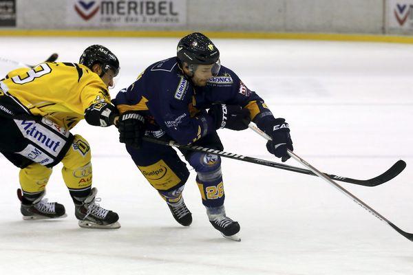 Chamonix contre Rouen (photos archives).