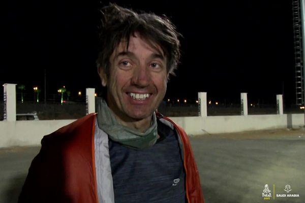 Pierre Cherpin, 48 heures avant sa chute. Le pilote amateur de moto lillois participait à son quatrième Dakar.