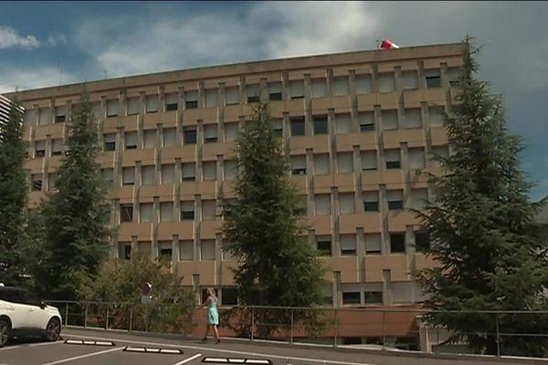 L'hôpital d'Aubenas