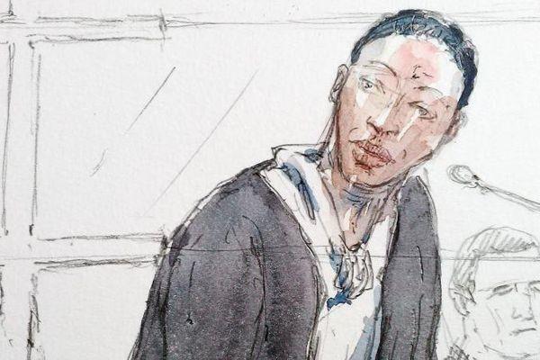 Fabienne Kabou devant la cour d'assises de Saint-Omer (Pas-de-Calais), le 20 juin 2016.