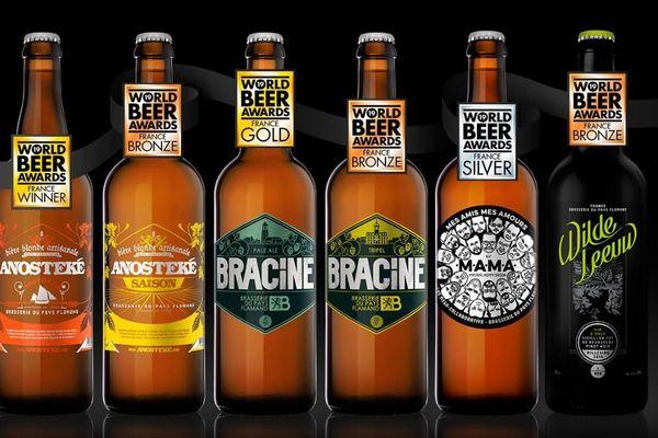 5 bières de la brasserie du Pays Flamand ont été récompensées au World Beer Awards 2019.