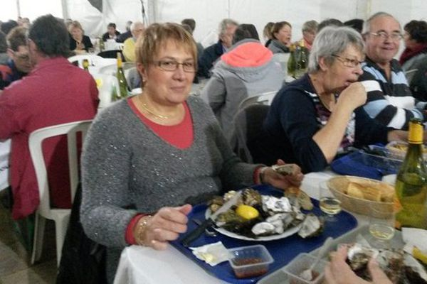 Dégustation d'huîtres à Sardent