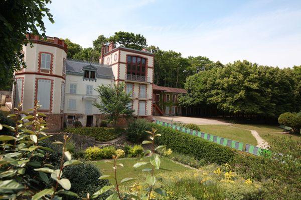 L'ancienne demeure d'Emile Zola photographiée en 2017. Elle était encore en travaux.