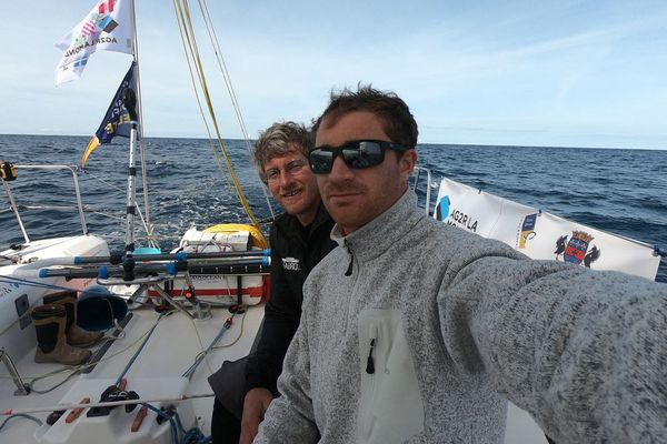 Benjamin Dutreux et Frédéric Denis, Sateco-Team Vendée formation