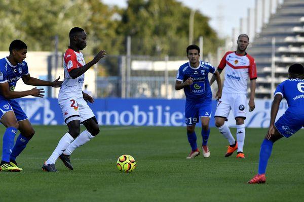 Les Chamois Niortais ont terminé le match contre Orléans sur le score d'un but partout.