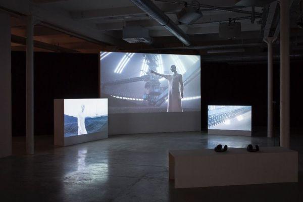 Depuis le 1er janvier, une partie des expositions de la biennale est disponible en version numérique. Ici l'oeuvre Future Shock.