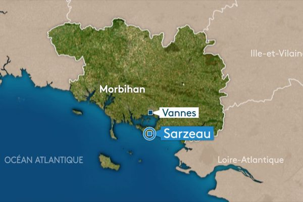 le corps a été retrouvé à Sarzeau , non loin des recherches engagées