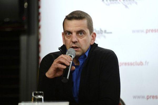 David Rodrigues Leal lors d'une conférence de presse en novembre 2013
