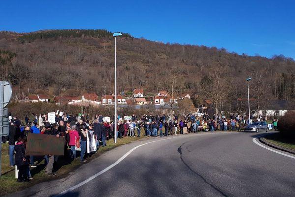 300 personnes mobilisées pour défendre le lynx dans les Vosges