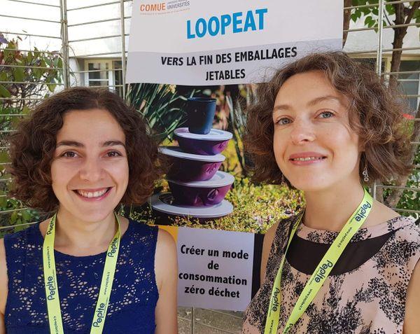 Adeline Lefebvre et Clémence Hugot, fondatrices de LoopEat