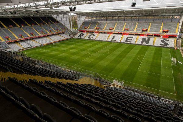 L'intérieur du Stade Bollaert-Delelis rénové.