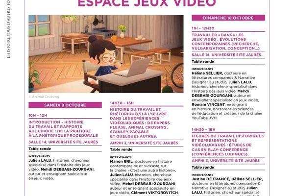 Le programme de l'espace jeu vidéo les 9 et 10 octobre à Blois