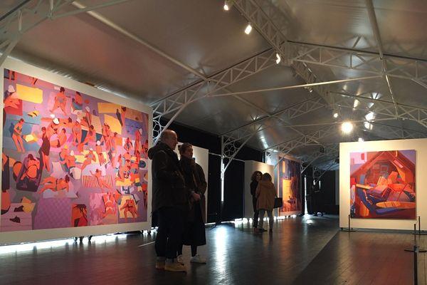 Les œuvres de Matth Velvet exposées jusqu'au 22 mars à l'Institut culturel Bernard Magrez