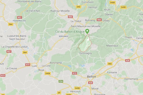 Le choc frontal s'est produit au sommet du Ballon d'Alsace, ce dimanche 17 mai.