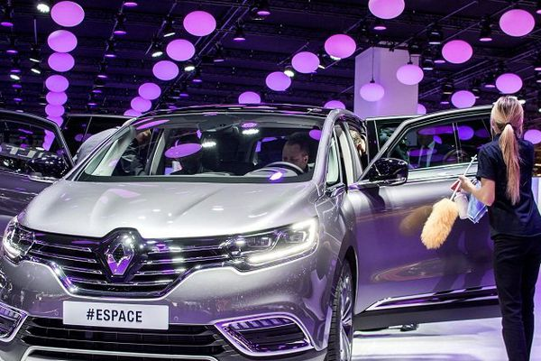 Le nouvel Espace présenté au Mondial de l'auto à Paris