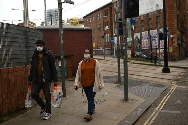 Manchester, dans le nord-ouest de l'Angleterre, ce vendredi.