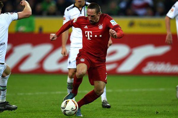Ribéry marque juste après être entré en jeu !