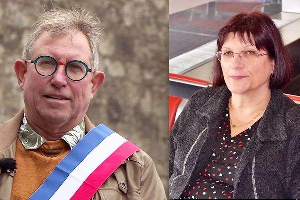 Alain Castang et Brigitte Cabirol, candidats pour les sénatoriales en Dordogne