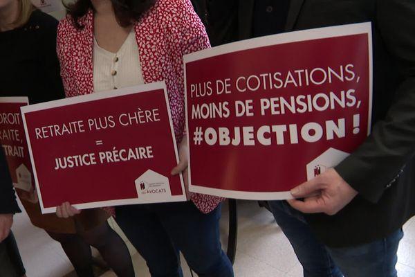La grèves des avocats continue