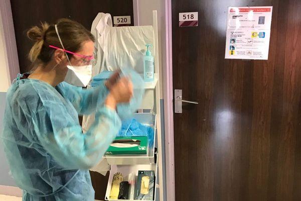 Au CHU de Clermont-Ferrand, tout un dispositif est dédié à l'accueil des malades atteints par le coronavirus-Covid 19.
