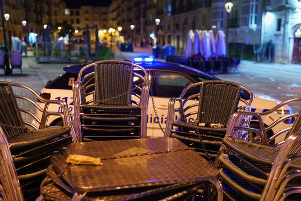 Le couvre-feu en Espagne - 25 octobre 2020.