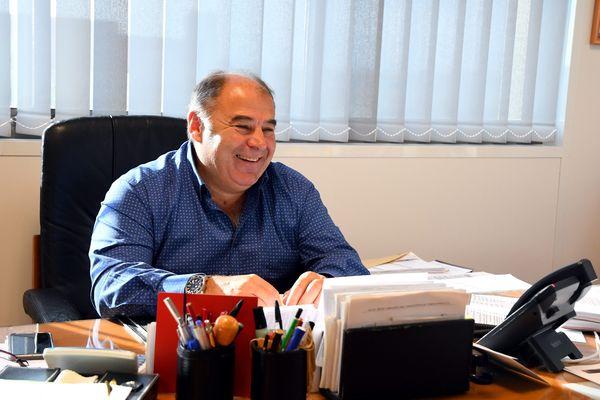 Bernard Guasch, emblématique président des Dragons Catalans et infatigable défenseur du rugby à XIII - 2018.