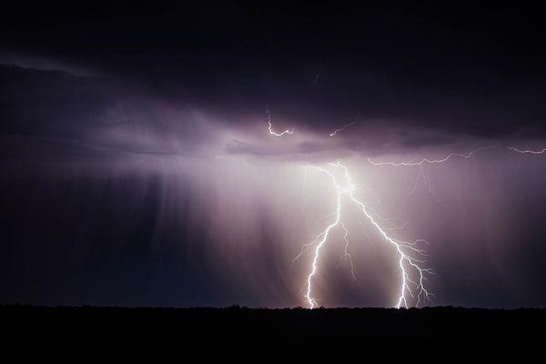 D'importants orages ont frappé les départements des Alpes dans la nuit de mardi à mercredi. Photo d'illustration.