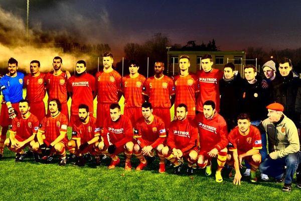 Equipe d'Occitanie - janvier 2015
