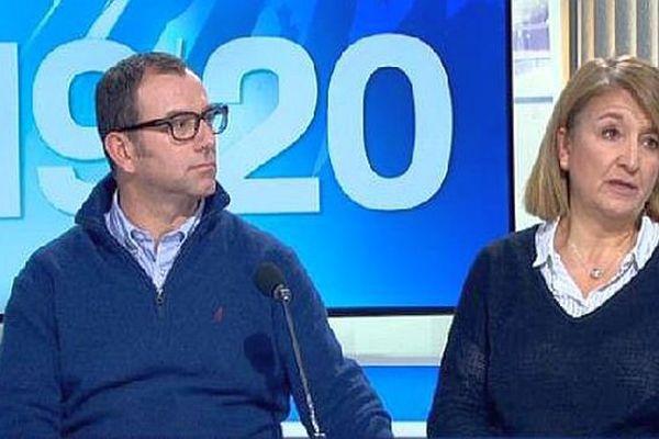 Eric et Nathalie Tronche, parents de Lucas, 16 ans disparu le 18 mars 2015 à Bagnols-sur-Cèze, étaient invités du 19/20 de France 3 Languedoc Roussillon.