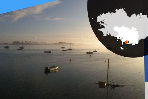 Jeux de lumière sur l'île d'Arz