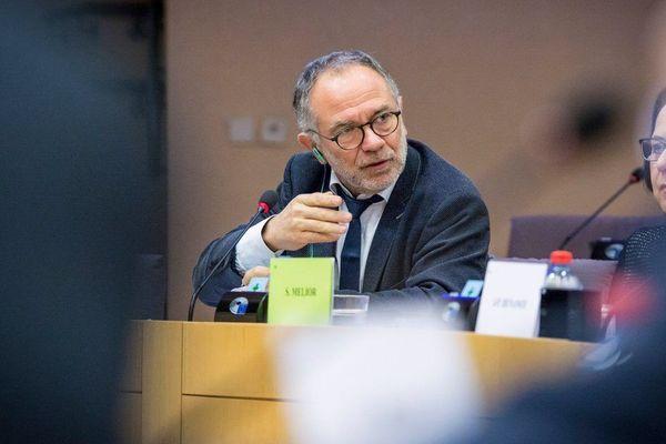 Le socialiste narbonnais Eric Andrieu, spécialiste des dossiers agricoles au parlement européen. ARCHIVES