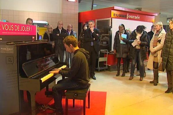 Le piano est installé en gare de Reims depuis 5 ans