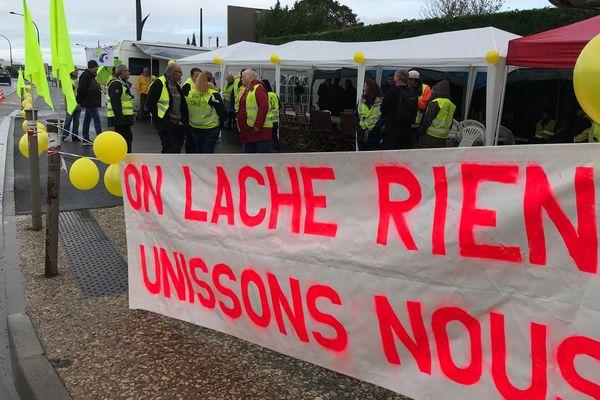 Niort, lieu de convergence régionale des Gilets Jaunes ce 19 octobre.