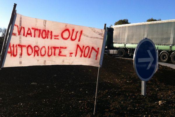 Le projet d'autoroute 154 est source de conflits en Eure-et-Loir depuis plusieurs décennies (ici en 2014).